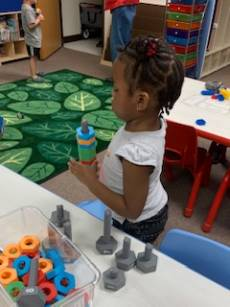 Child in MC's Pre-K Academy
