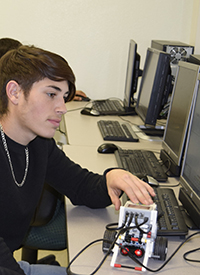 Interested in a robotics career? The Scholars' Dollars program at Midland College-WRTTC can help.